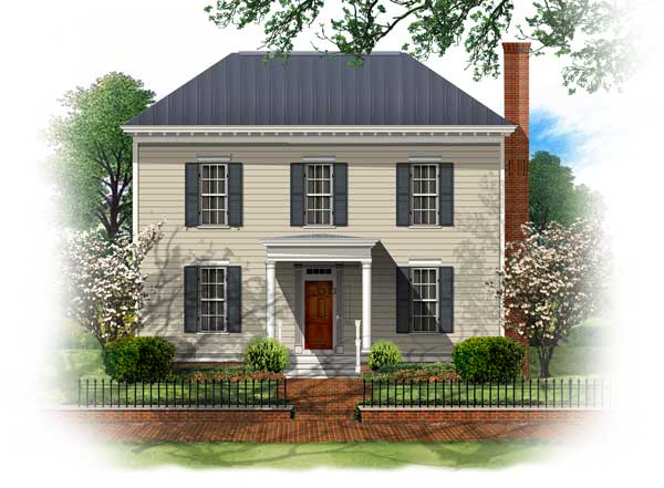 BSA Home Plans Westover Georgian Historic